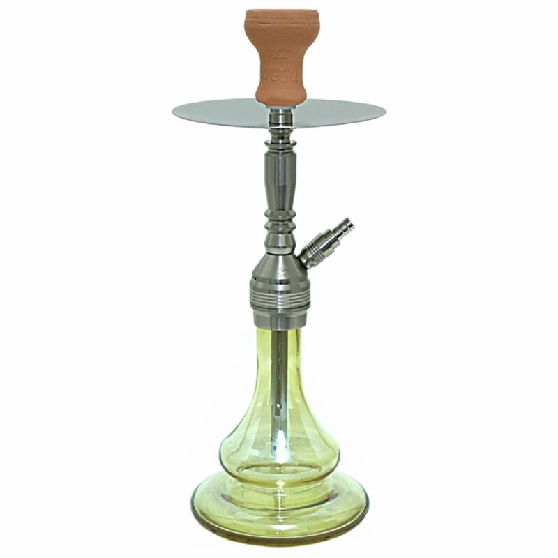 Caesar Shisha Final Star - Stainless Steel Color - Amber