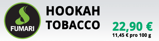 Fumari Hookah Tobacco Wasserpfeifen Tabak