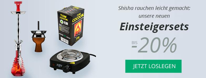 Shisha Deluxe Shishasets